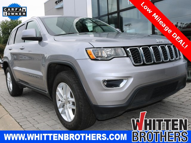 Certified Pre-Owned 2018 Jeep Grand Cherokee Laredo