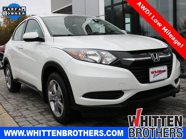 Pre Owned 2018 Honda Hr V Lx 4d Sport Utility In Richmond Sm722