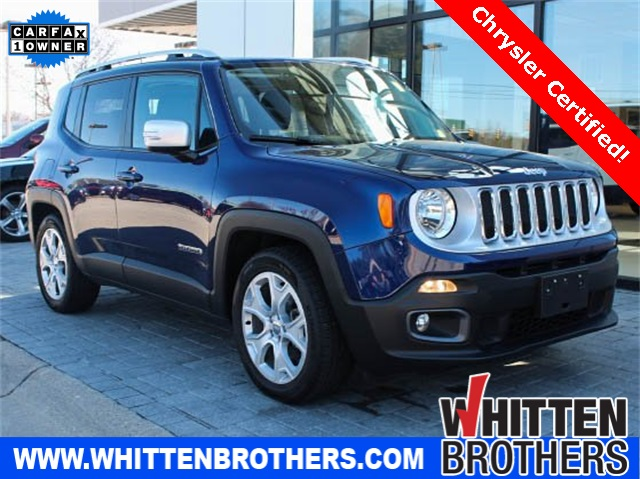Certified Pre-Owned 2016 Jeep Renegade Limited