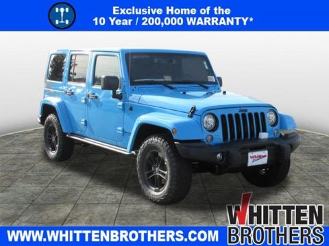 NEW 2017 JEEP WRANGLER UNLIMITED WINTER 4X4