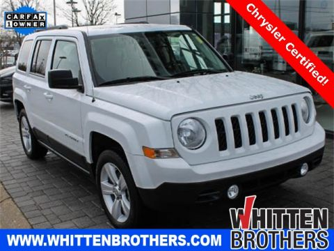 CERTIFIED PRE-OWNED 2017 JEEP PATRIOT LATITUDE FWD 4D SPORT UTILITY