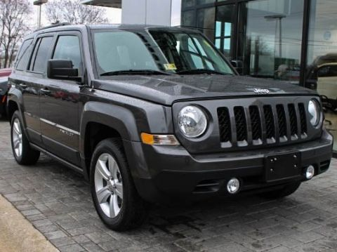CERTIFIED PRE-OWNED 2016 JEEP PATRIOT LATITUDE FWD 4D SPORT UTILITY