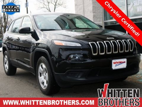 Certified Pre-Owned 2014 Jeep Cherokee Sport