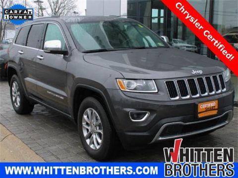 CERTIFIED PRE-OWNED 2015 JEEP GRAND CHEROKEE LIMITED WITH NAVIGATION & 4WD