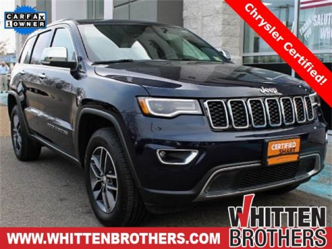 CERTIFIED PRE-OWNED 2018 JEEP GRAND CHEROKEE LIMITED WITH NAVIGATION & 4WD
