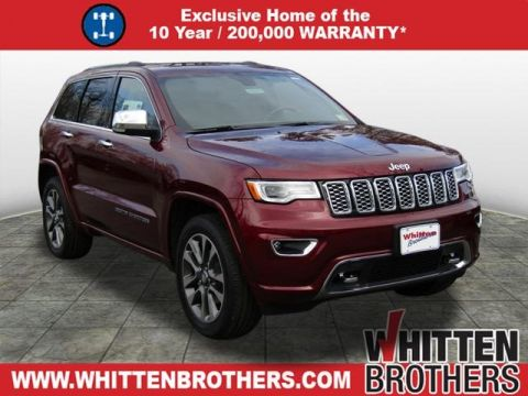 NEW 2018 JEEP GRAND CHEROKEE OVERLAND WITH NAVIGATION & 4WD