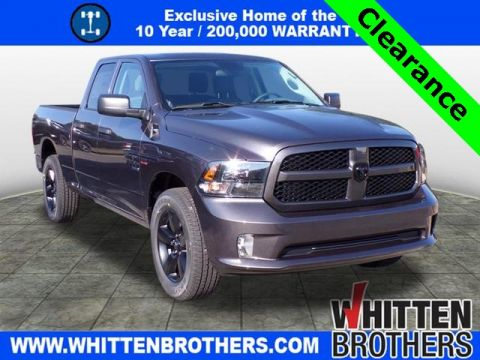 New 2019 RAM DS6L41 Tradesman