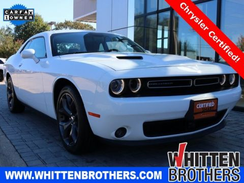 Certified Pre-Owned 2018 Dodge Challenger SXT