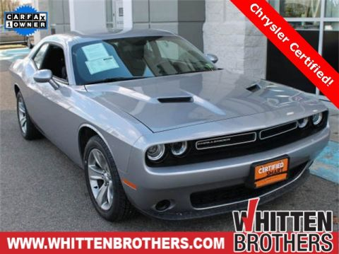 CERTIFIED PRE-OWNED 2017 DODGE CHALLENGER SXT RWD 2D COUPE