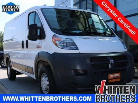 Certified Pre-Owned 2018 Ram ProMaster 1500 Low Roof