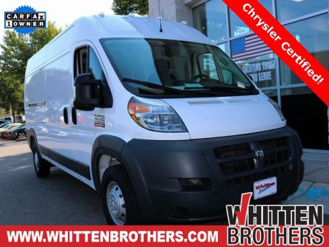Certified Pre-Owned 2018 Ram ProMaster 2500 High Roof