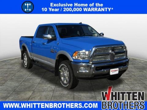 NEW 2018 RAM 2500 BIG HORN CREW CAB 4X4 6'4 BOX