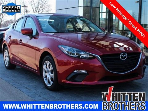 PRE-OWNED 2015 MAZDA3 I SPORT FWD 4D SEDAN