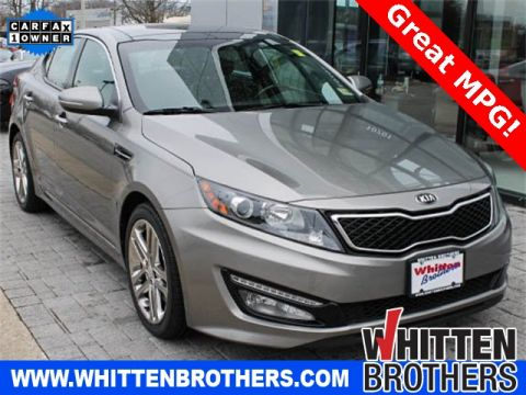 PRE-OWNED 2013 KIA OPTIMA SXL WITH NAVIGATION