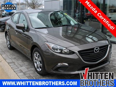 PRE-OWNED 2014 MAZDA3 I SPORT FWD 4D SEDAN